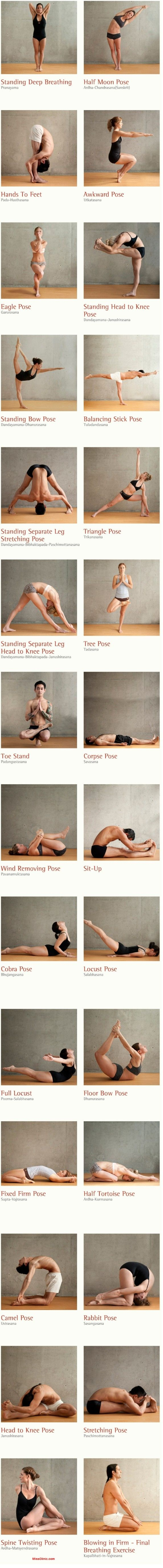 26 Healthy Yoga Postures... All from our beautiful #YogaPoses gallery!