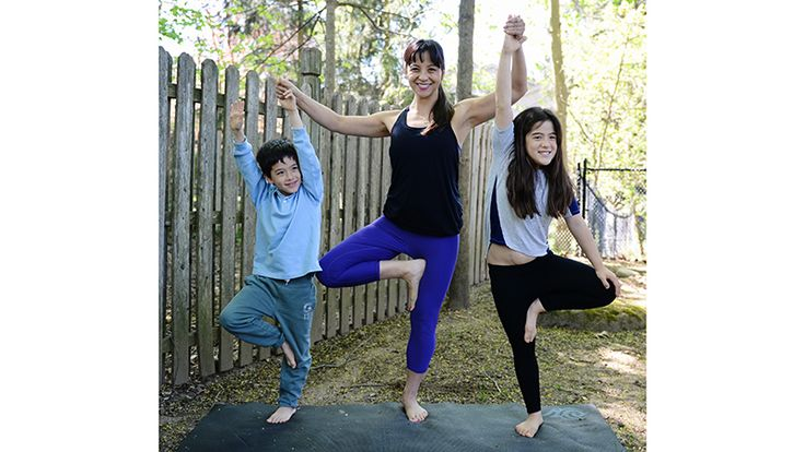 Two Fit Moms: 6 Tips for Doing Yoga With Kids   Yoga for Kids