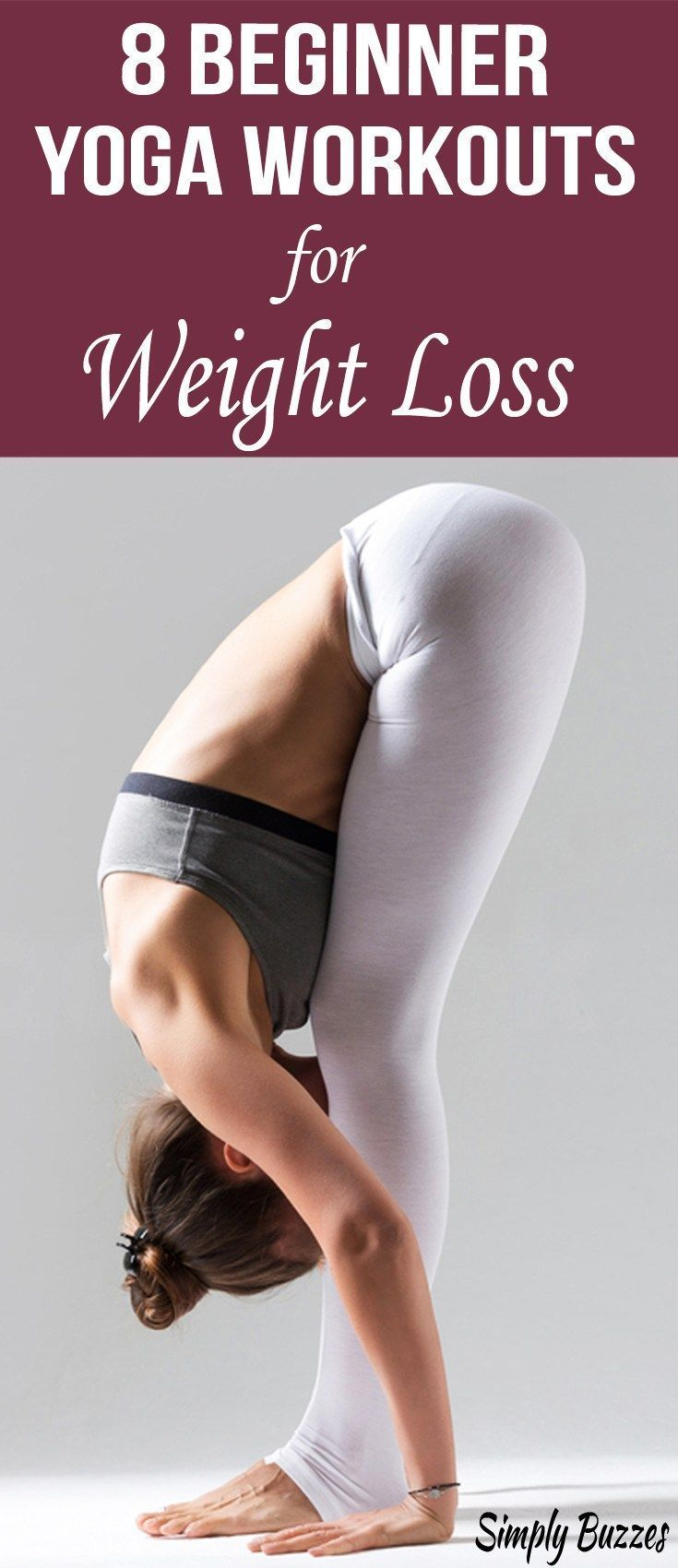 8 Yoga Workouts For Beginners To Lose Weight That Everyone Can Do It Very Easily...