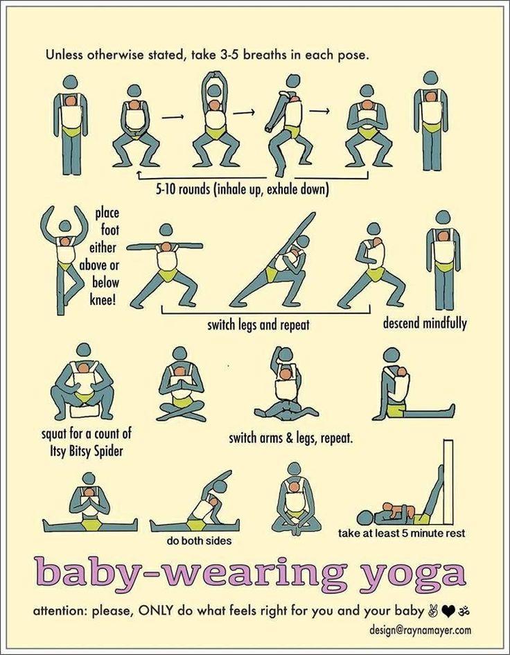 Babywearing Yoga