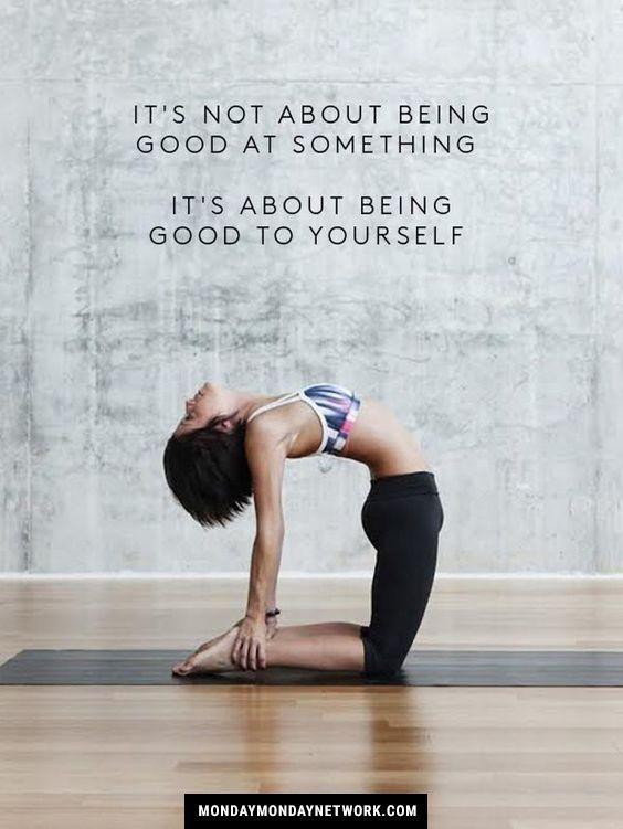 Be good to yourself. #yoga #yogaeverydamnday #yogalove #yogachallenge #yogalife ...