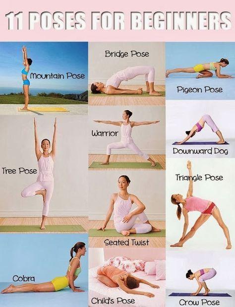 Beginners must follow this yoga poses. #yoga #yogaeverydamnday #yogalove #yogach...