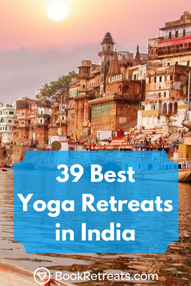 Book a yoga retreat in India, the birthplace of the yoga practice.   #yogaretrea...