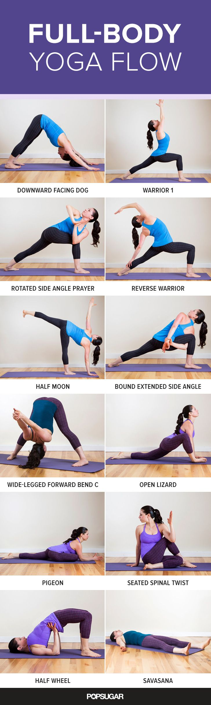 Yoga Poses & Workout  This yoga flow works your muscles while ...