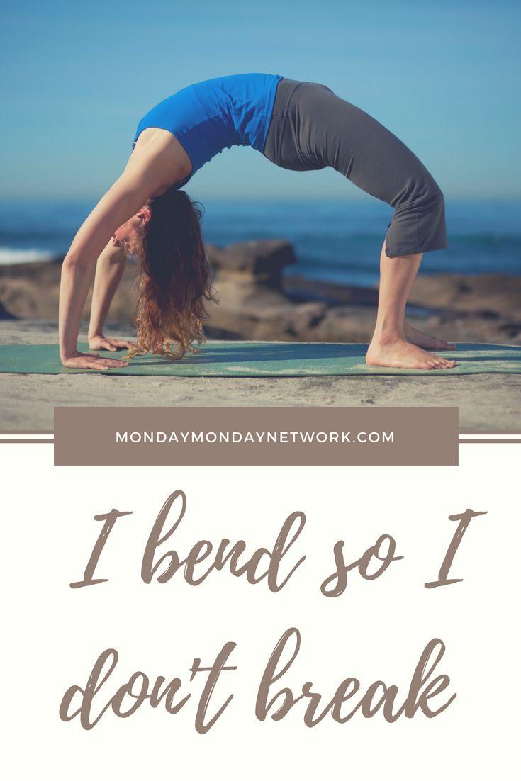 Just bend, don't break, be flexible. #yoga #yogaeverydamnday #yogalove #yogachal...
