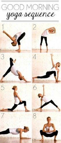 Say hello good morning to this poses. #yoga #yogaeverydamnday #yogalove #yogacha...