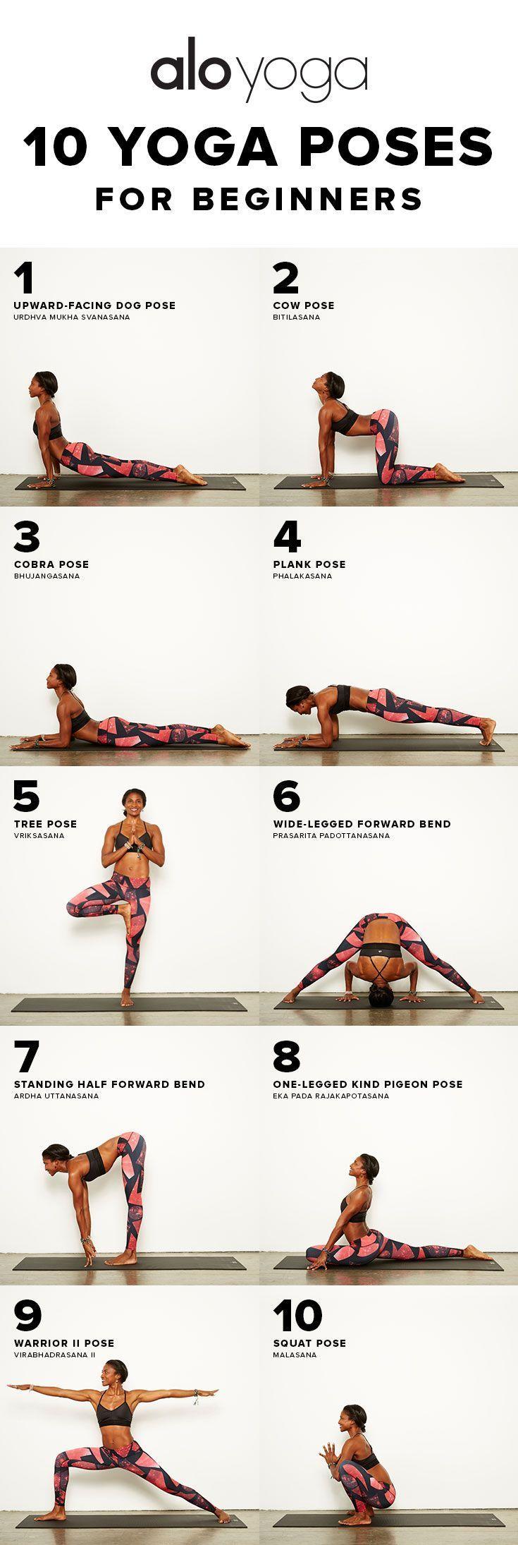 Si quieres comenzar a practicar yoga, estas 10 poses son las mejores para que te...