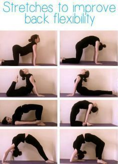 Stretch to improve your back flexibility. #yoga #yogaeverydamnday #yogalove #yog...