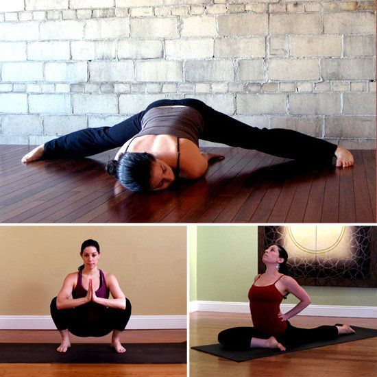 Stretches for tight hips (hip flexers, t-band, sciatica) tight hips can be the r...