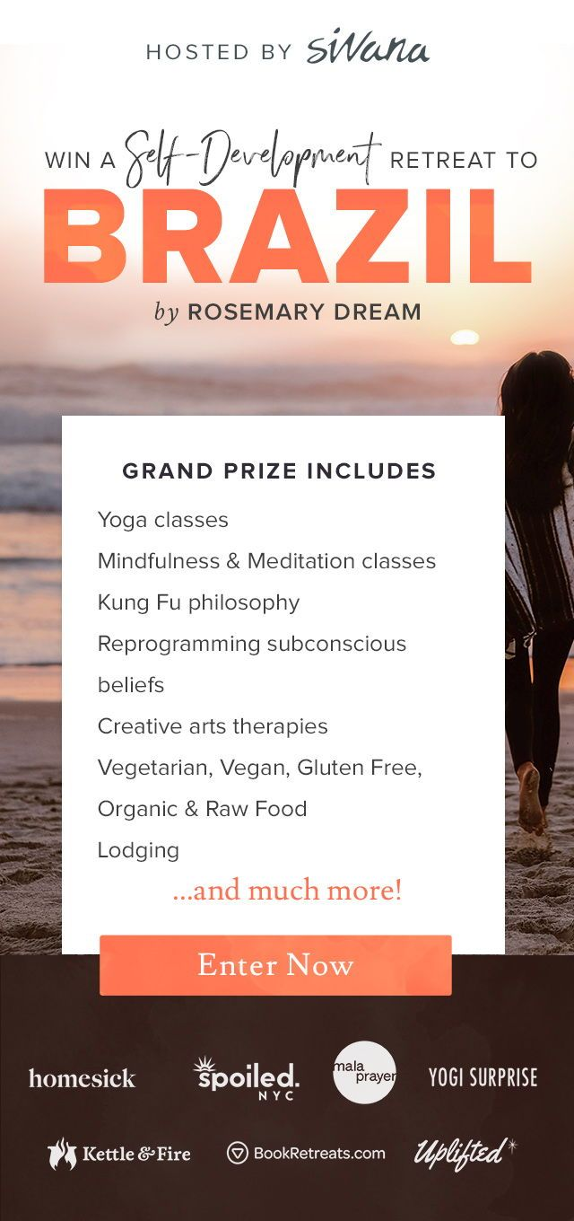 Want to win a spot at an all-inclusive retreat in Brazil? Enjoy guided meditatio...