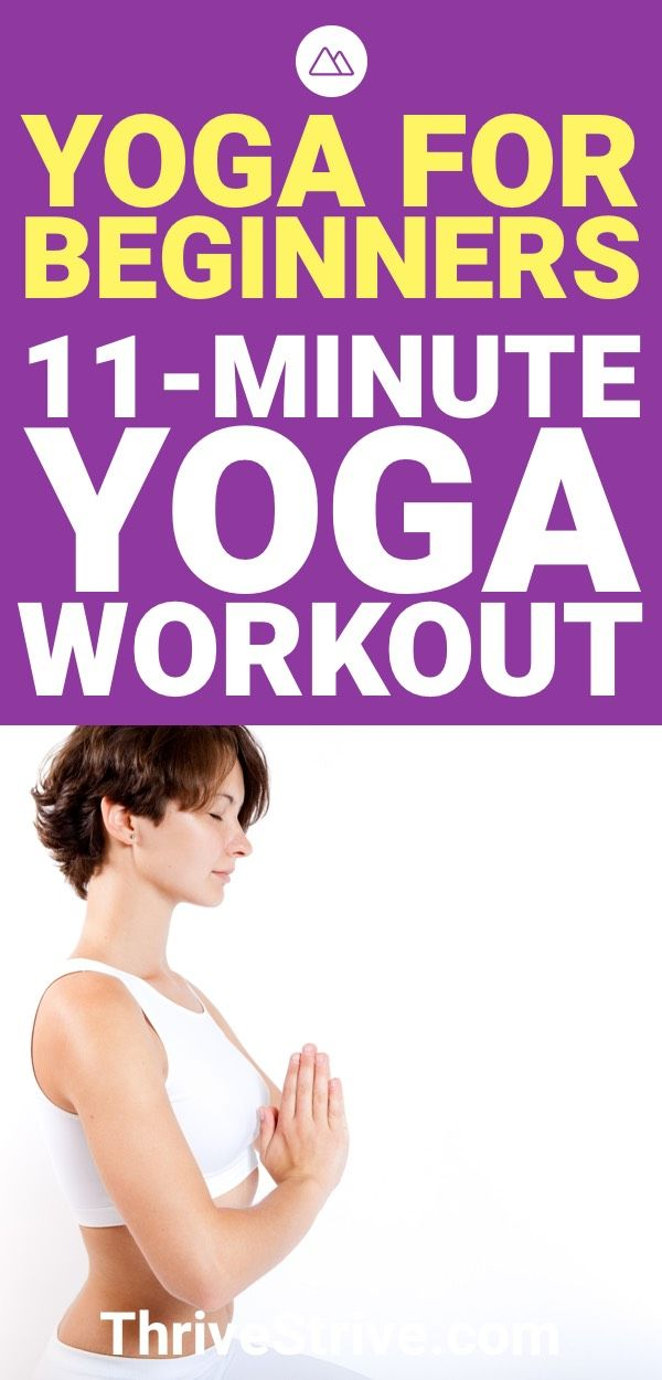 When you're first starting yoga, you don't want to overdo it. This 11-mi...
