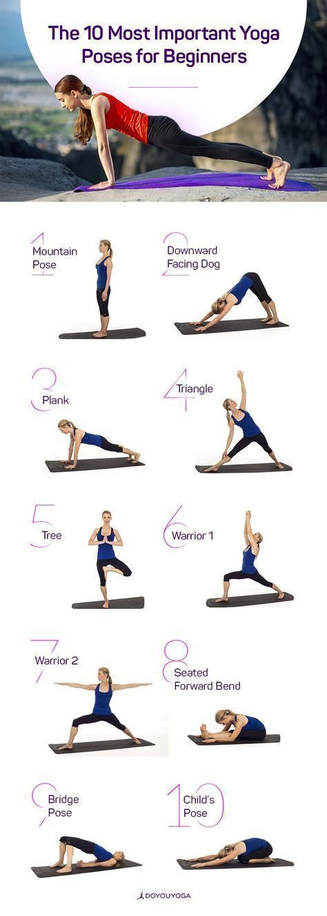 Yoga for Beginners | The 10 most important Yoga Poses for the Yoga Beginner #Yog...
