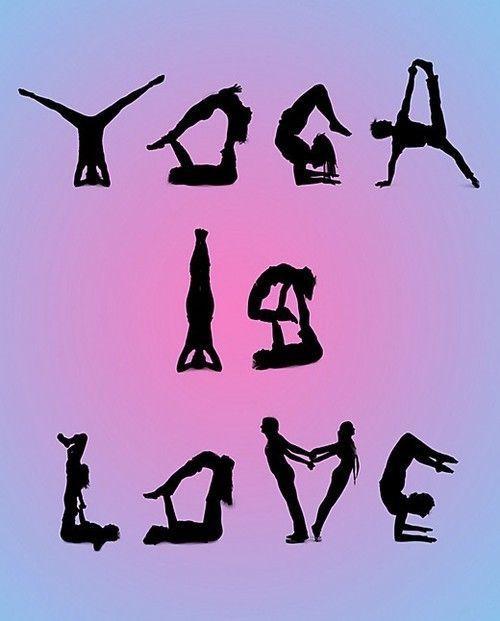Yoga is LOVE! #yoga #yogaeverydamnday #yogalove #yogachallenge #yogalife #yogagi...