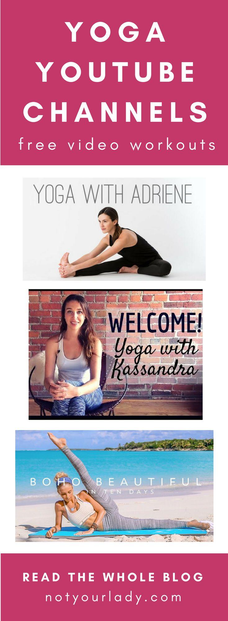 yoga youtube channels | Amazing yoga youtube channels to fuel your yoga practice...