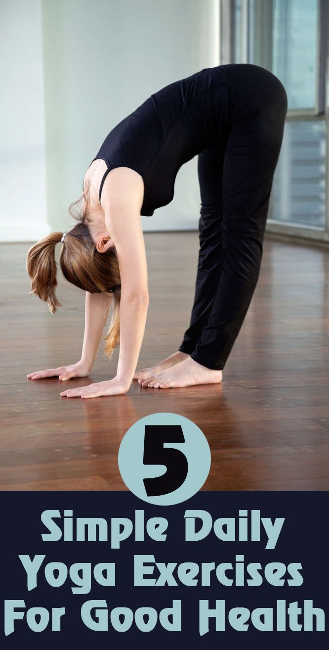 Yoga For Health: These exercises are very simple and each asanas requires 4-5 mi...