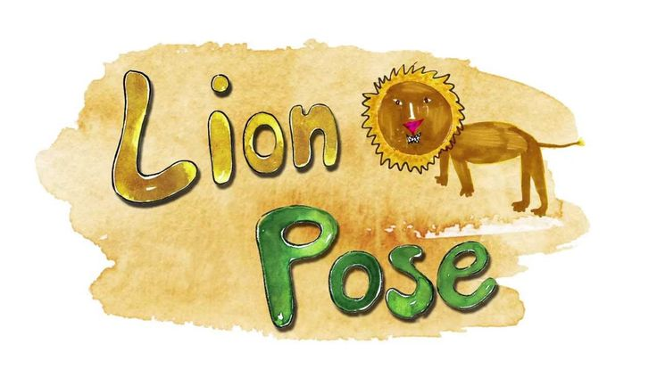 Yoga with Olo the Cat and Master Cobra: The Lion Pose