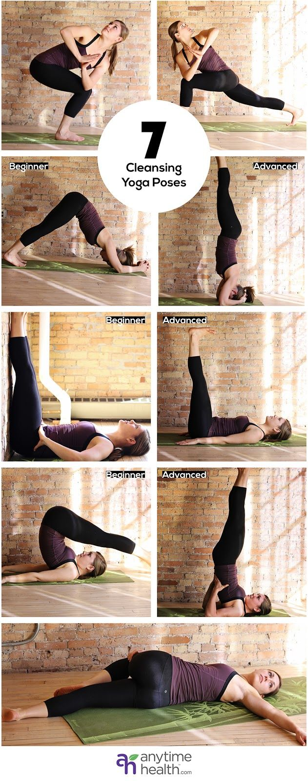 cleansing yoga poses