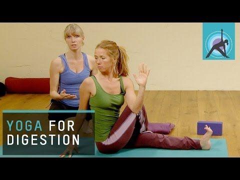 ▶ Christmas Yoga exercises, Digestion SOS - YouTube
