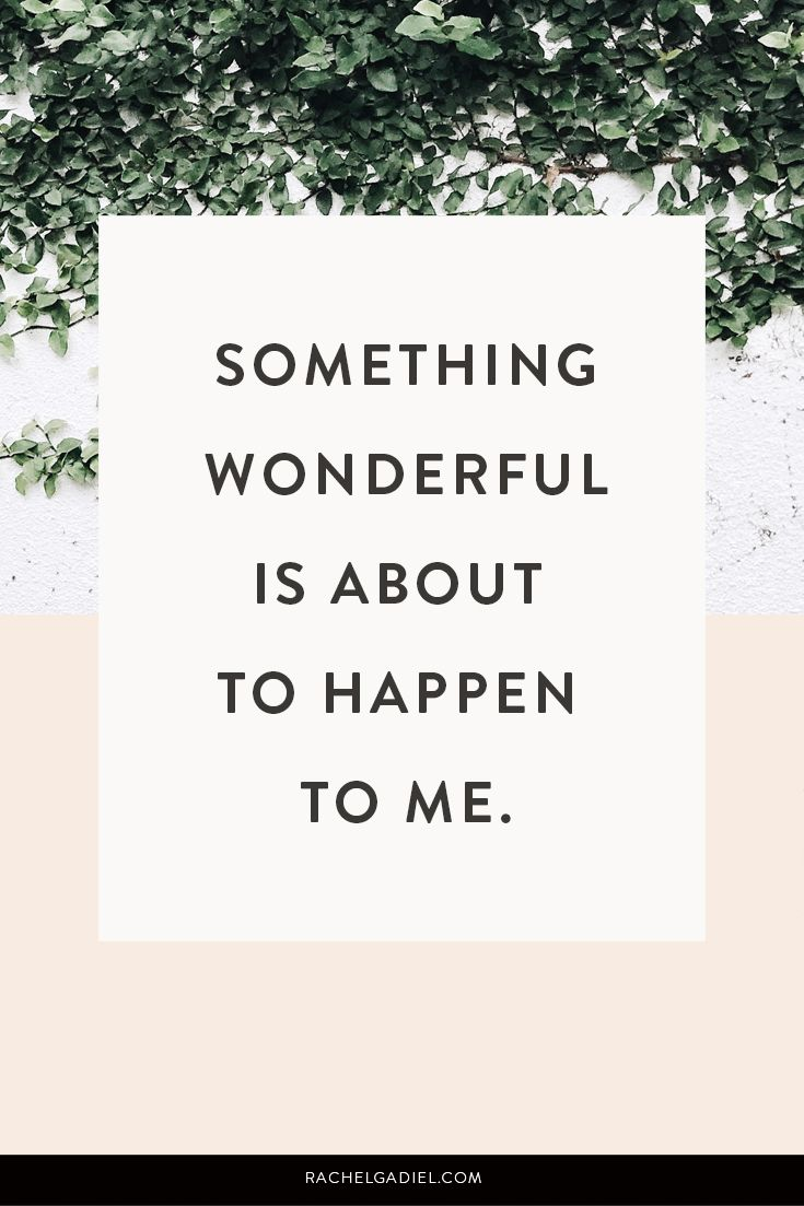 As you know I am a huge fan of affirmations and use them as part of my daily mor...