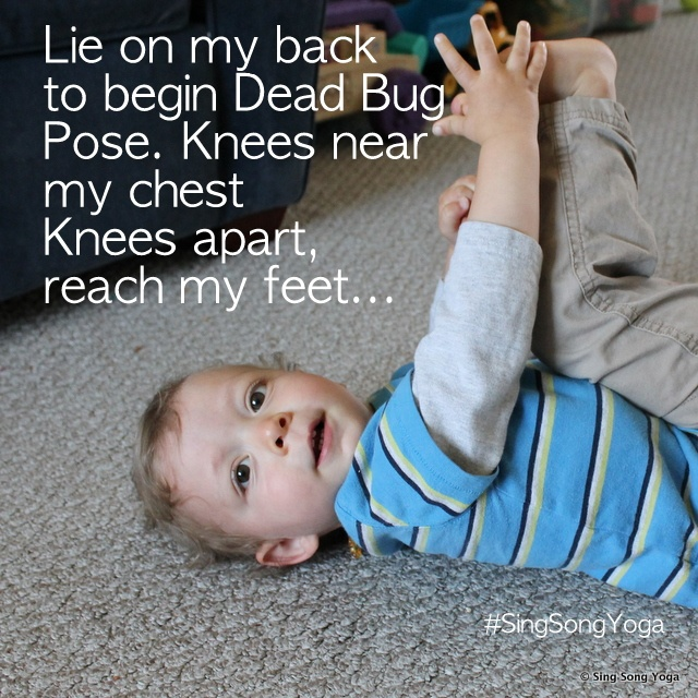 Begin Yoga with your Toddler Today!  Top 6 yoga poses for toddlers