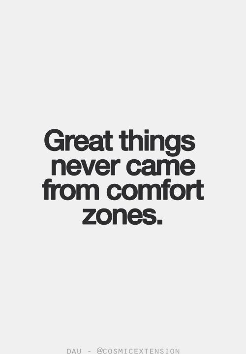 Comfort zones, you guard yourself. Though when your heart has been truly cared f...
