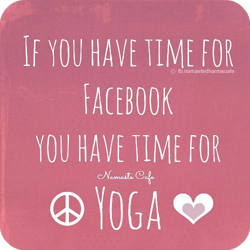 Yoga Quotes : Oops, does Pinterest count ;) - About Yoga ...