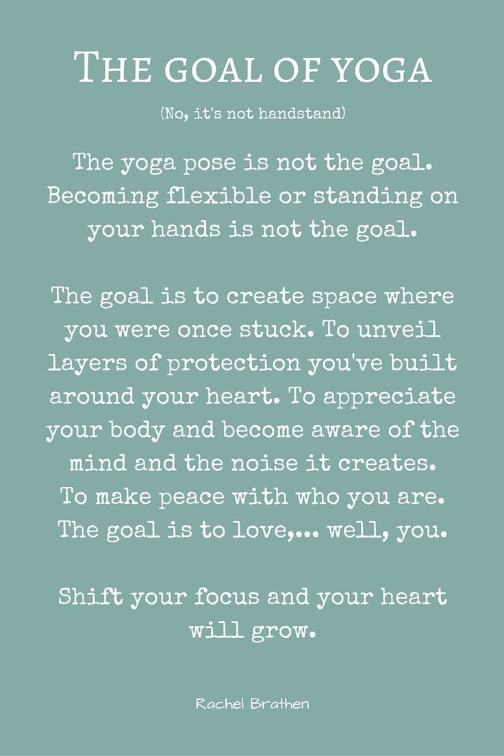 Wisdom by the wonderful Rachel Brathen ♥ #yogaquotes #yogainspiration #yogaeve...