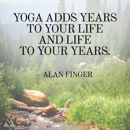 Yoga adds years to your life and life to your years. #yoga #quote ... - t.co/LqG...