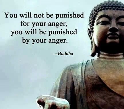 You will not be punished for your anger.