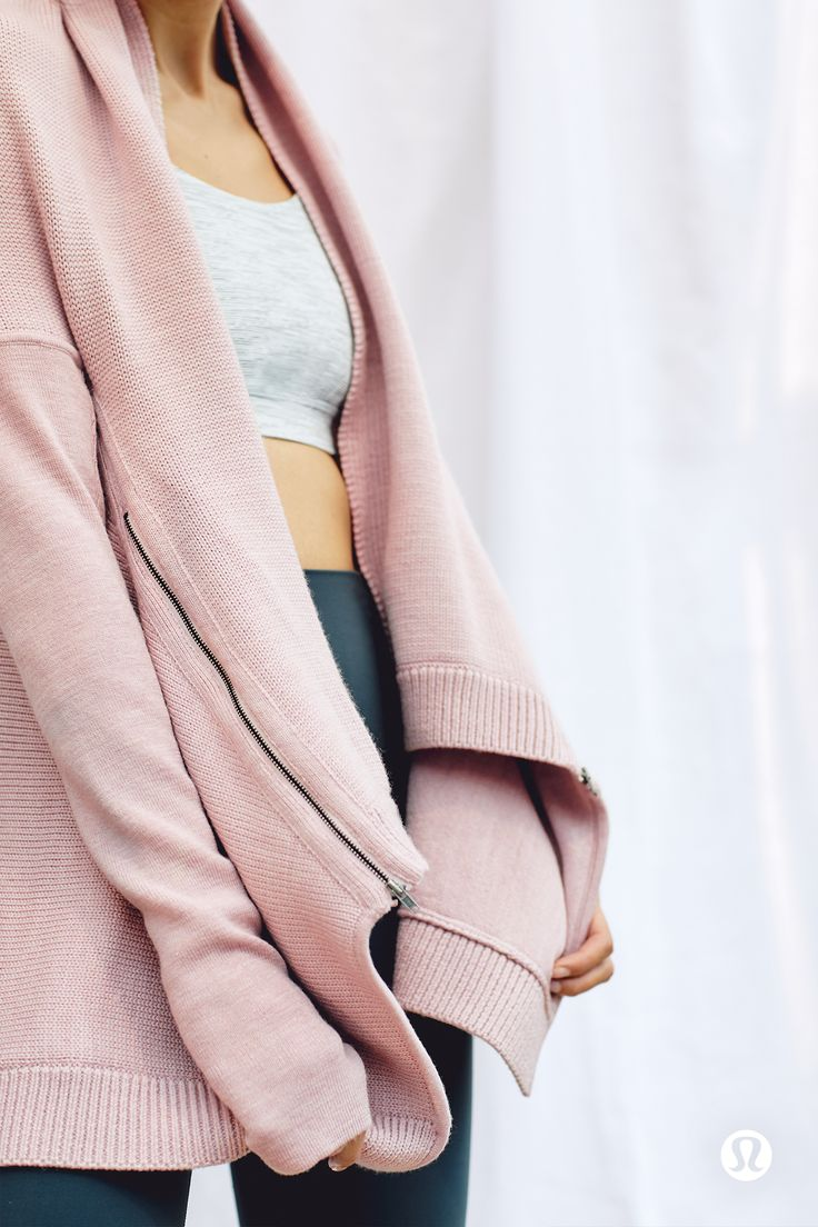 The Wrap It Up Sweater—Merino wool you can toss in the washing machine. Yes, y...