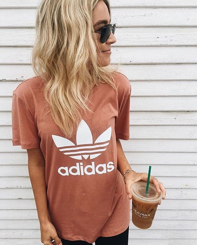 Absolutely necessary: daily dose of coffee and adidas. #regram from Ashley Guyat...