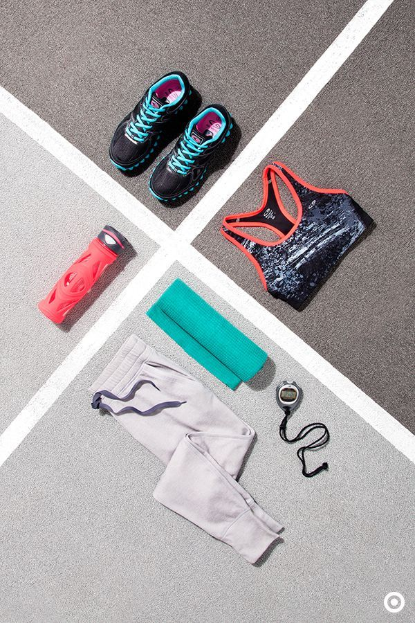 Cover some ground with a running look that'll keep you warm and cool and comfo...