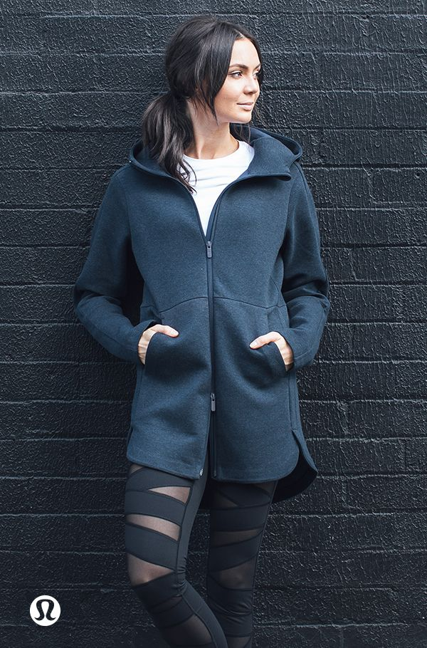 Going Places Hooded Jacket, with you for the to & from.