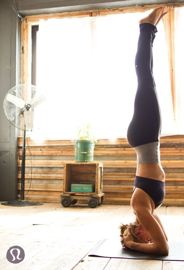 Headstand – How To Do... More inspiration at Yoga Bed and Breakfast Valencia S...