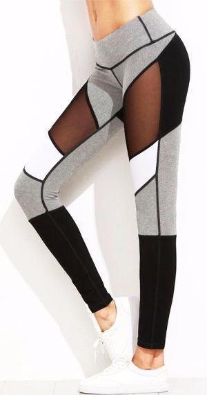 Gray Scale Leggings *NEW*