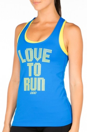 Love to Run Excel Tank.  For all the runners out there, this tank is for you. Th...