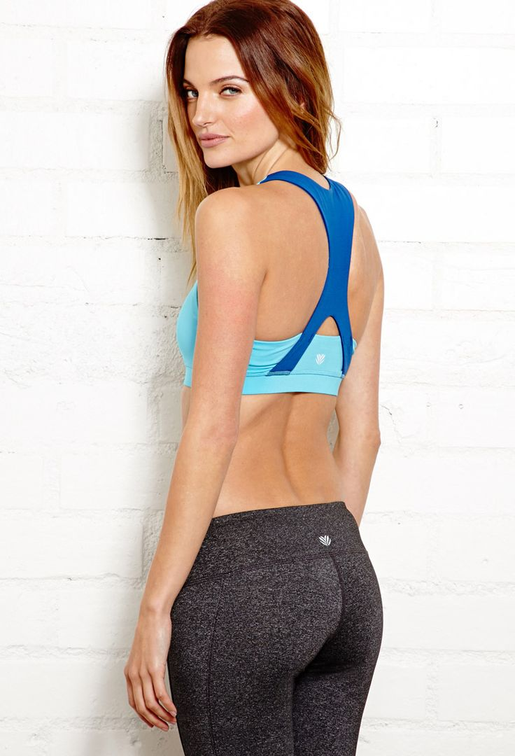 Medium Impact - Cross Back Sports Bra | FOREVER21 New year, new you #Active #Wor...
