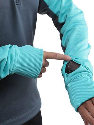 Nike Women's Thermal Hoody, watch peep hole :)