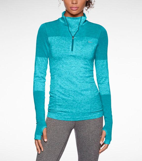 Nike dry fit half zip