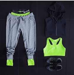 leggings under baggy sweats #styletip #workout