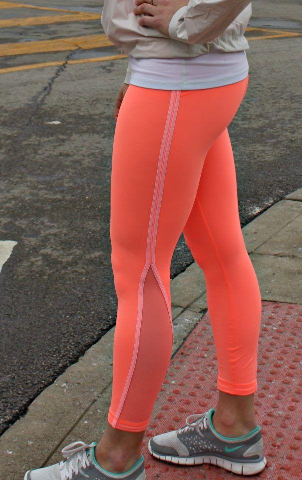 neon running leggings