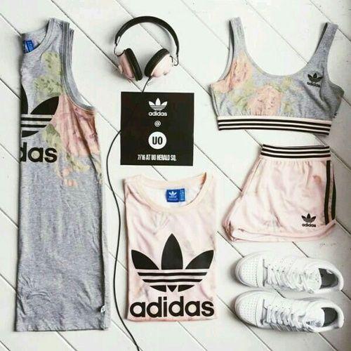 Imagen de adidas, sport, and outfit