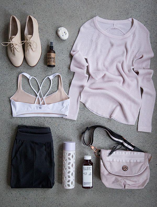 Lululemon + Happy Spritz Good Morning Beautiful aromatherapy blend