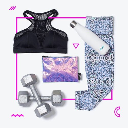 Outfit planning for a week of workouts :: #BandierFit