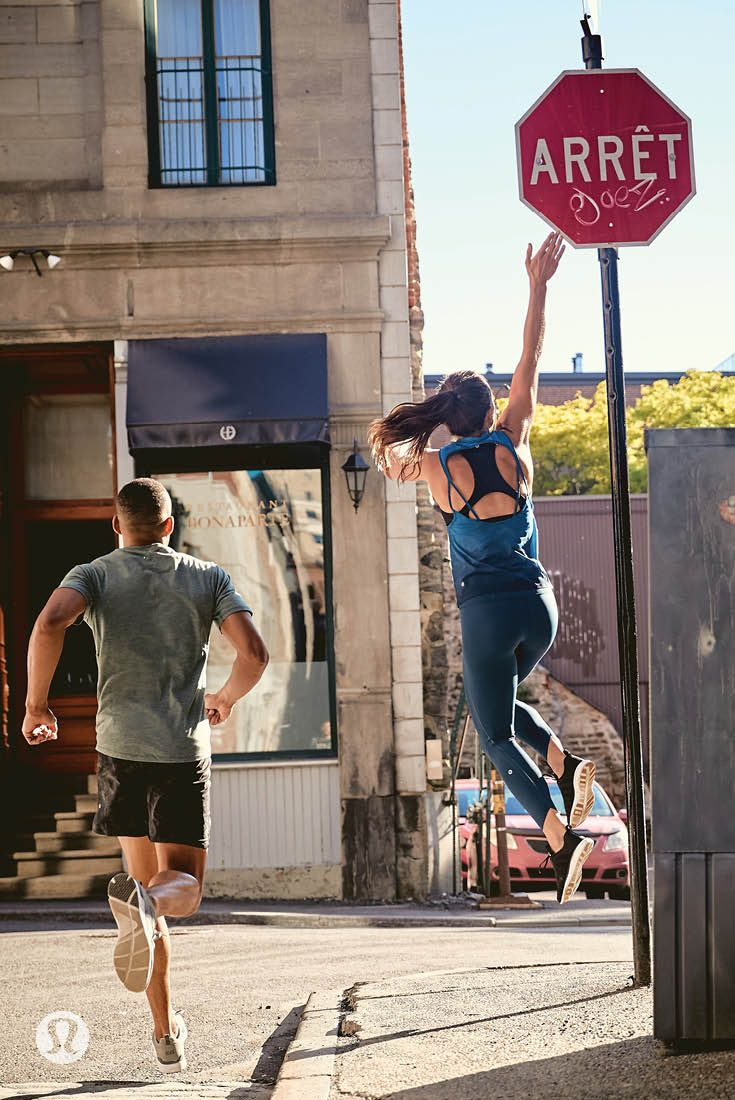 Run for it—lululemon run gear that keeps you cool on hot summer runs in the ci...