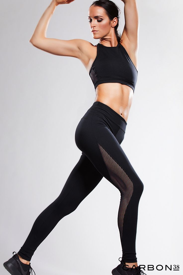 Stand out from the crowd in sexy mesh activewear at your next workout and beyond...