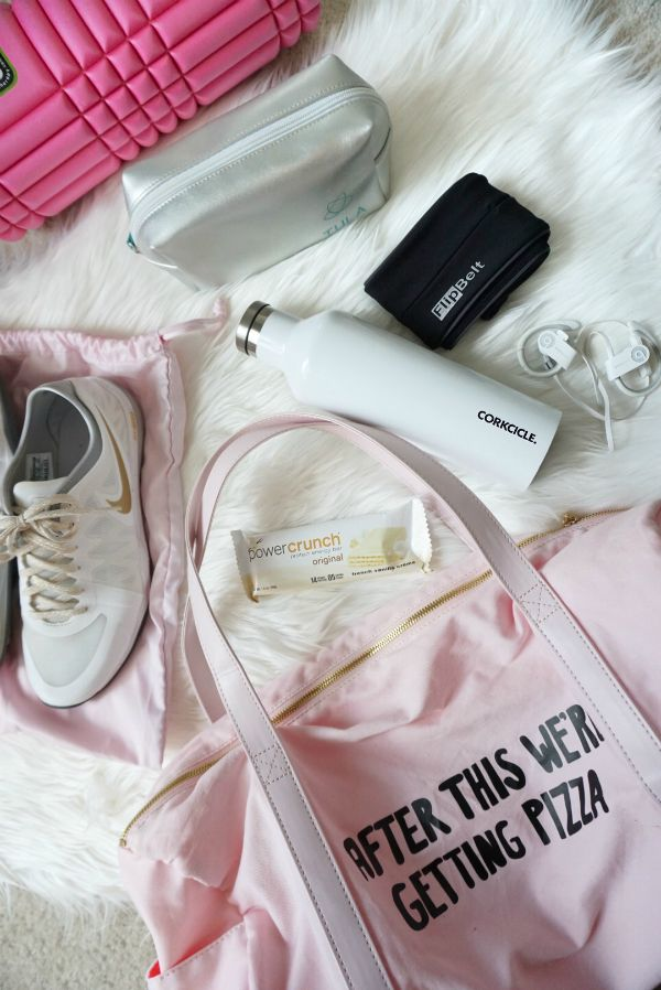 Strawberry Chic: What's in my Gym Bag