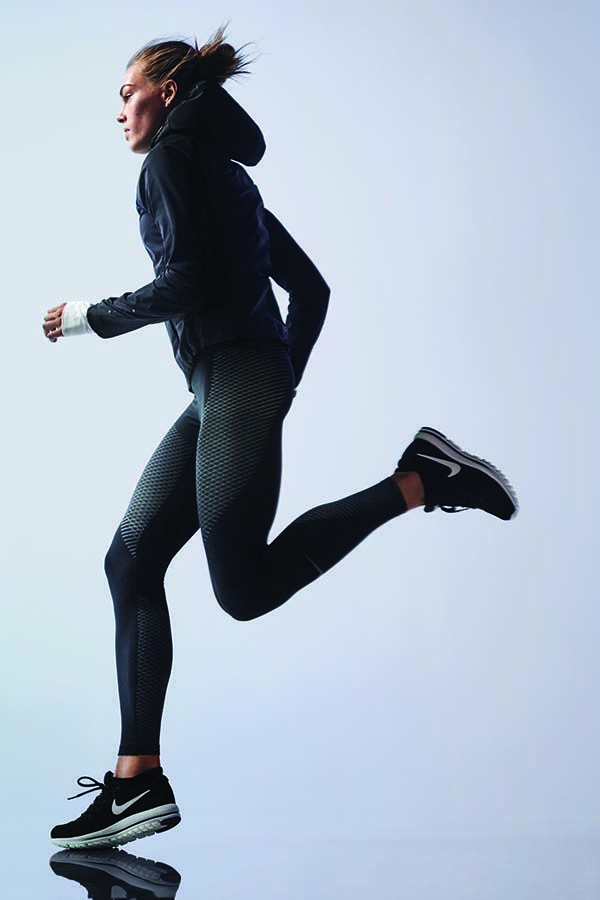 Tack on one more mile today. The Nike Zonal Strength Running Tights target your ...