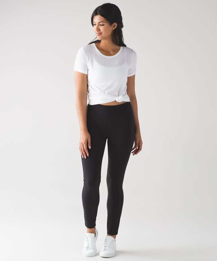 These office-friendly skinny  pants are just as comfortable  as your favourite p...