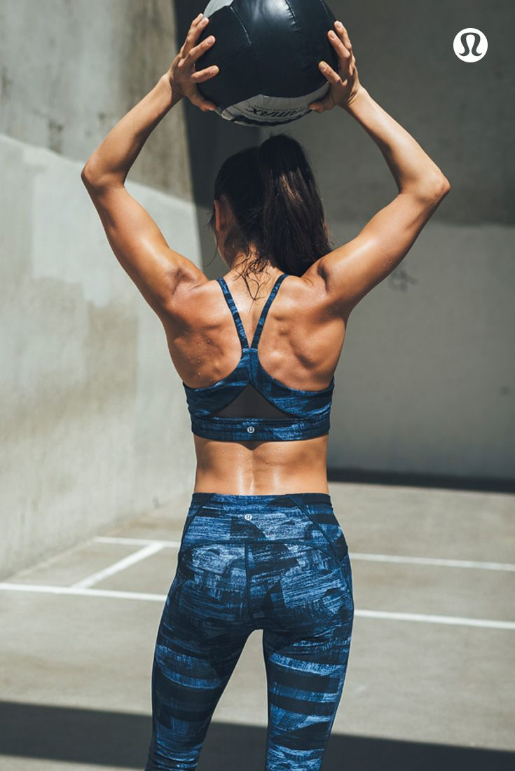 Tune out distractions in the lululemon Train Times Collection.